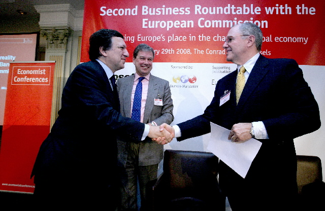 Second Business Roundtable organised by The Economist
