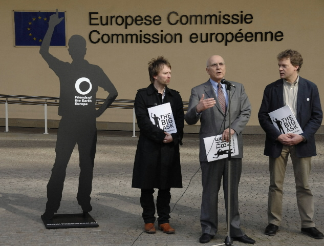 Visit by a delegation from Friends of the Earth Europe to the EC