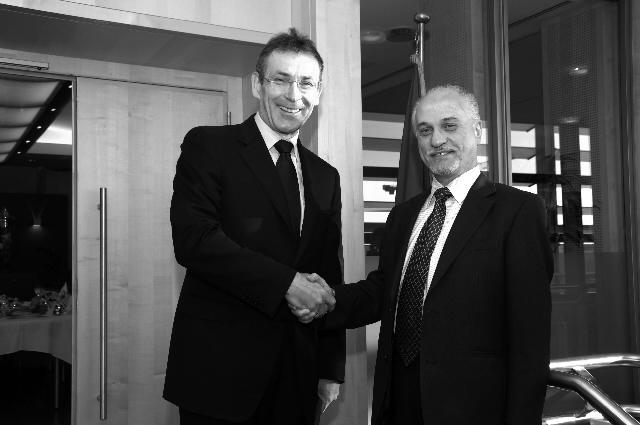 Visite de Hussain al-Shahristani, ministre iraquien du Pétrole, à la CE