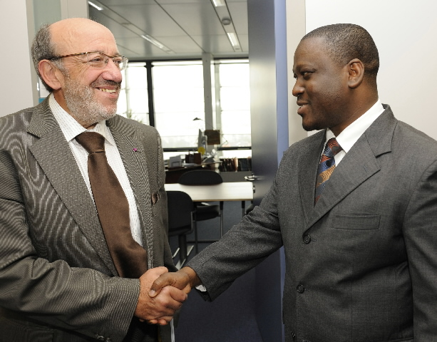Visit of Guillaume Kigbafori Soro, Ivorian Prime Minister, to the EC