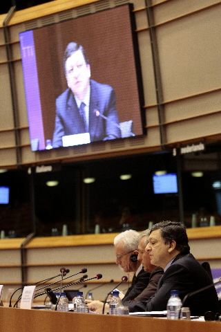 Participation of José Manuel Barroso, President of the EC, at the Joint Parliamentary Meeting on European Economy