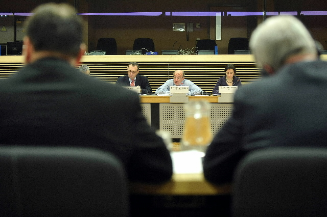 Visit of the European Executive Directors of the World Bank to the EC