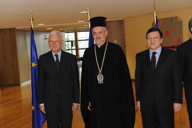 Visite de hauts dignitaires religieux européens à la CE