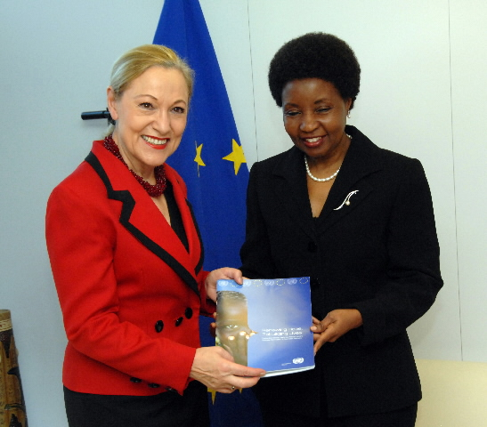 Visit of Asha Rose Migiro, Deputy Secretary General of the United Nations, to the EC