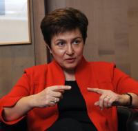 Kristalina Georgieva, membre désignée de la CE