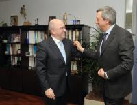 Visit of Carlos Aguirre, Minister for Economy and Treasury of the Basque Governement, to the EC