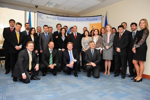 Visit of Štefan Füle, Member of the EC, in Azerbaijan