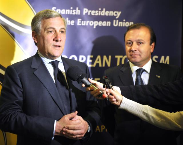 Participation of Antonio Tajani, Vice-President of the EC, at the European Tourism Stakeholders Conference