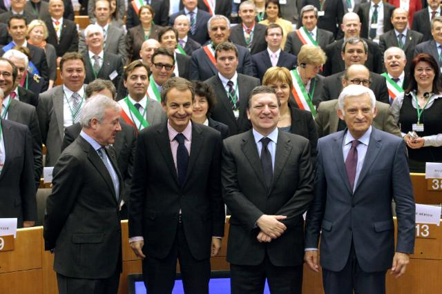 Participation of José Manuel Barroso, President of the EC, at the Covenant of Mayors Ceremony at the EP, in Brussels