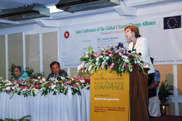 Visit of Connie Hedegaard, Member of the EC, to Bangladesh