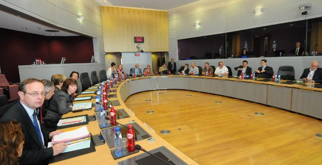 Visit of the representatives of the European External Action Service to the EC