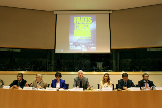 Award ceremony of the competition for schools REAL Fake on counterfeiting and piracy