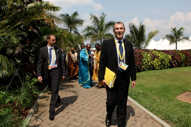 Visit of Andris Piebalgs, Member of the EC, to Uganda