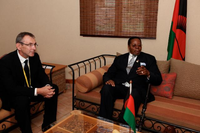 Visit of Andris Piebalgs, Member of the EC, to Uganda