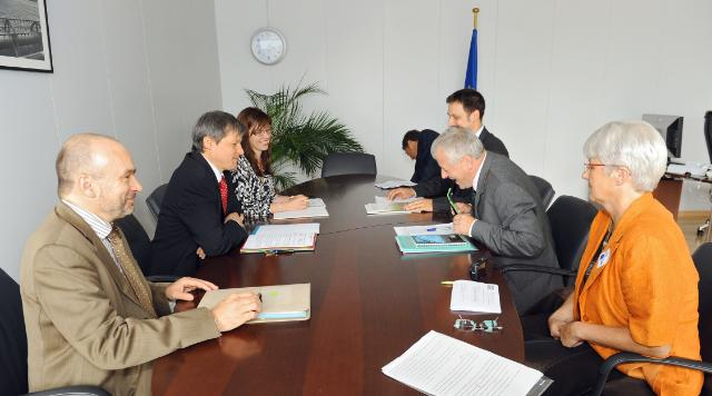 Visit of the representatives of the International Federation of Organic Agriculture Movements, to the EC