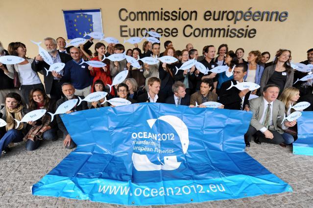 Visite d'une délégation d'Océan 2012 à la CE