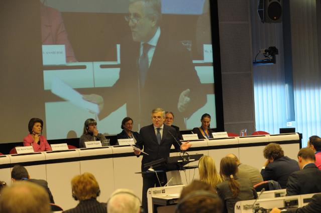 Participation of Antonio Tajani, Vice-President of the EC, and Androulla Vassiliou, Member of the EC, at the European Tourism Day conference