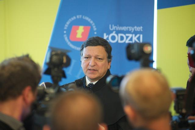 Award of the degree of Doctor Honoris Causa of the Technical Univesity of Łódź to José Manuel Barroso, President of the EC