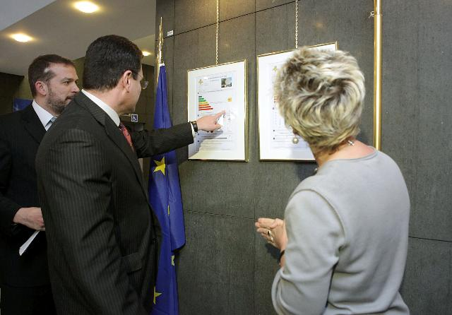 Presentation of the energy performance certificate of a public building in Brussels: the DM28 building of the DG