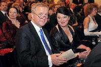 Cérémonie de gala organisée à l'occasion de l'entrée de l'Estonie dans la zone euro
