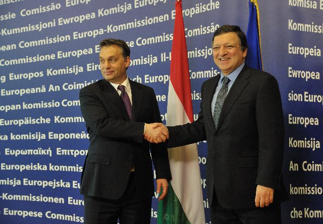 Visit of Viktor Orbán, Hungarian Prime Minister and President in office of the Council, to the EC
