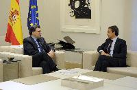 Meeting between José Luis Rodríguez Zapatero, Spanish Prime Minister, and José Manuel Barroso, President of the EC