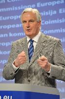 Press conference by Michel Barnier, Member of the EC, on the 2010 annual reports on 'Your Europe Advice' and SOLVIT, as well as the communication on the Internal Market Information system