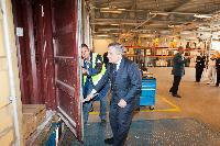 Visit of Antonio Tajani, Vice-President of the EC, to Rotterdam