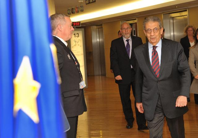 Visit of Amr Moussa, Outgoing Secretary General of the League of Arab States, to the EC