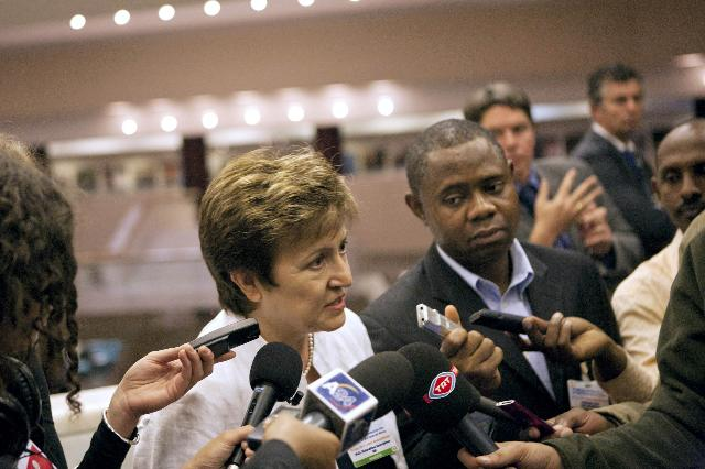 Participation of Kristalina Georgieva, Member of the EC, at the International Pledging Conference on Drought and Famine situation in the Horn of Africa