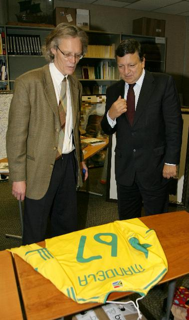 Participation of José Manuel Barroso, President of the EC, and Andris Piebalgs, Member of the EC, in the EU/South Africa Summit