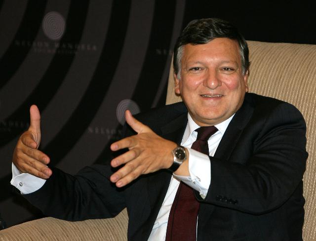 Participation de José Manuel Barroso, président de la CE, et Andris Piebalgs, membre de la CE, au sommet UE/Afrique du Sud