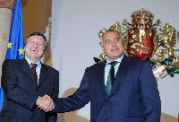 Visit of José Manuel Barroso, President of the EC, to Sofia