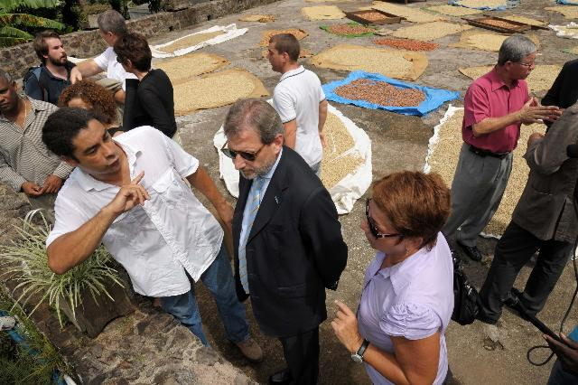 Visit of Johannes Hahn, Member of the EC, to Guadeloupe