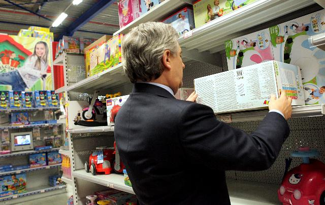 Launch of the European Toy Safety Campaign by Antonio Tajani, Vice-President of the EC