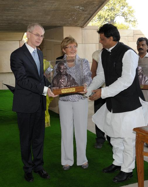 Visit of José Manuel Barroso, President of the EC, to India