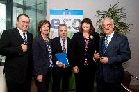 Participation of Máire Geoghegan-Quinn, Member of the EC, at the conference organised by the JRC on