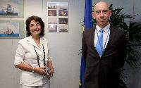 Visit of Pascal Savouret, Executive Director for the EFCA, to the EC
