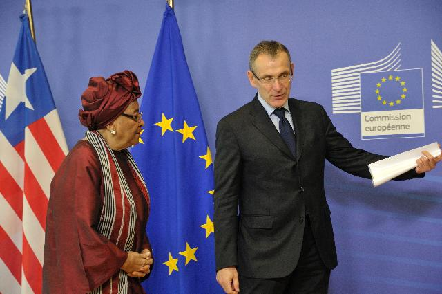 Visit of Ellen Johnson-Sirleaf, President of Liberia, to the EC