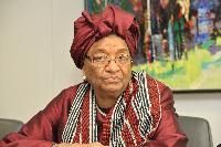 Visit of Ellen Johnson-Sirleaf, President of Liberia, to the EC