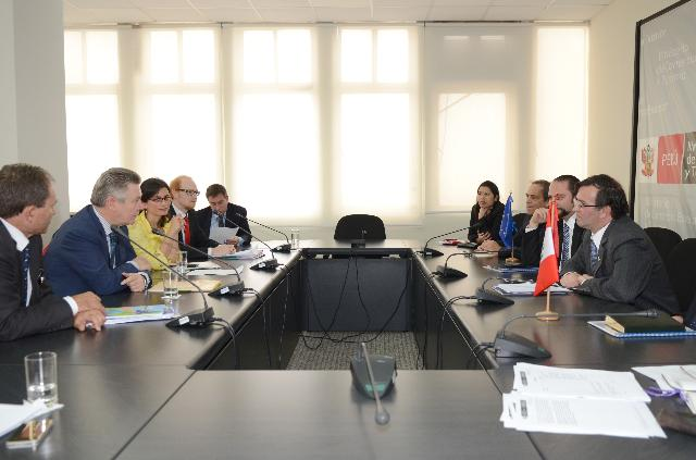 Visit of Karel De Gucht, Member of the EC, to Peru