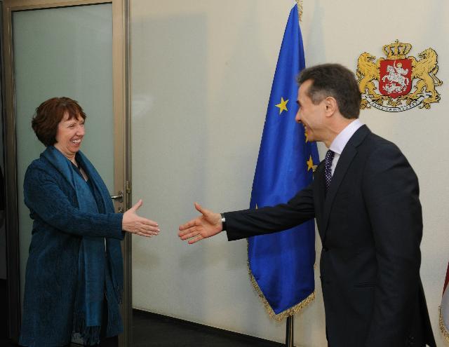 Visit of Catherine Ashton, Vice-President of the EC, to Georgia