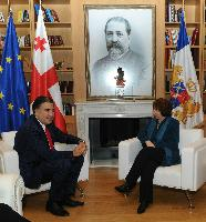 Visit of Catherine Ashton, Vice-President of the EC, to Georgia