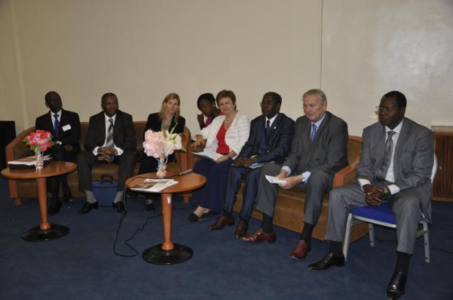 Visite de Kristalina Georgieva, membre de la CE, au Burkina Faso