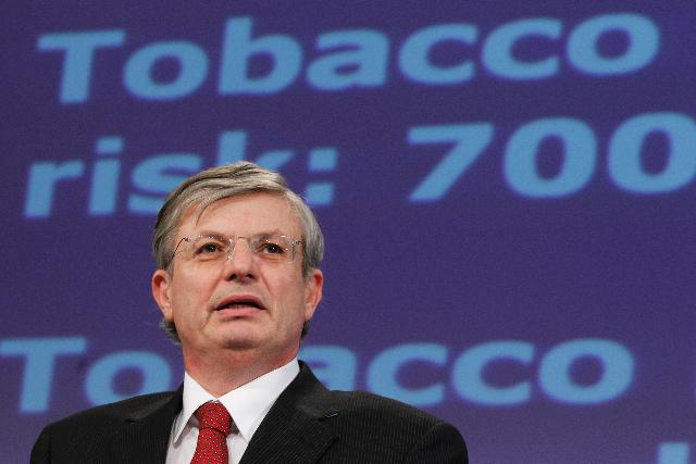 Press conference by Tonio Borg, Member of the EC, on the Tobacco Products Directive