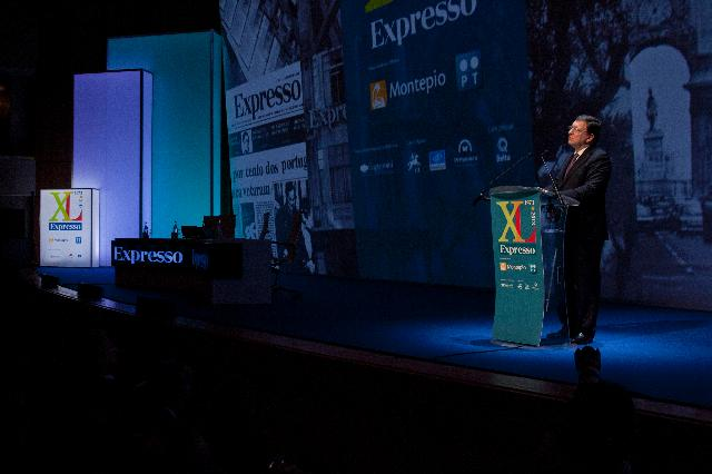 Participation of José Manuel Barroso, President of the EC, in a conference celebrating the 40th anniversary of the