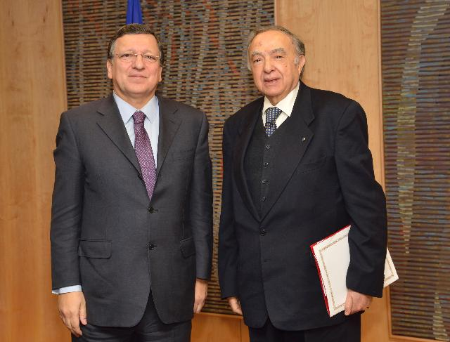 Visit of Habib Ben Yahia, Secretary General of the Arab Maghreb Union, to the EC