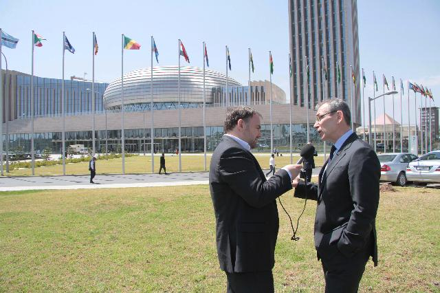 Participation of Andris Piebalgs, Member of the EC, at the African Union Summit, in Addis Ababa