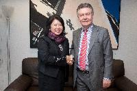 Visit of Mari Elka Pangestu, Indonesian Minister for Tourism and Creative Economy, to the EC