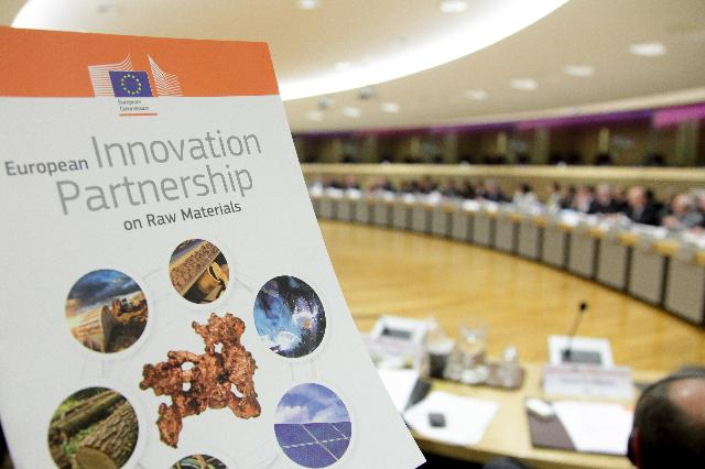Launch of the European Innovation Partnership on Raw Materials